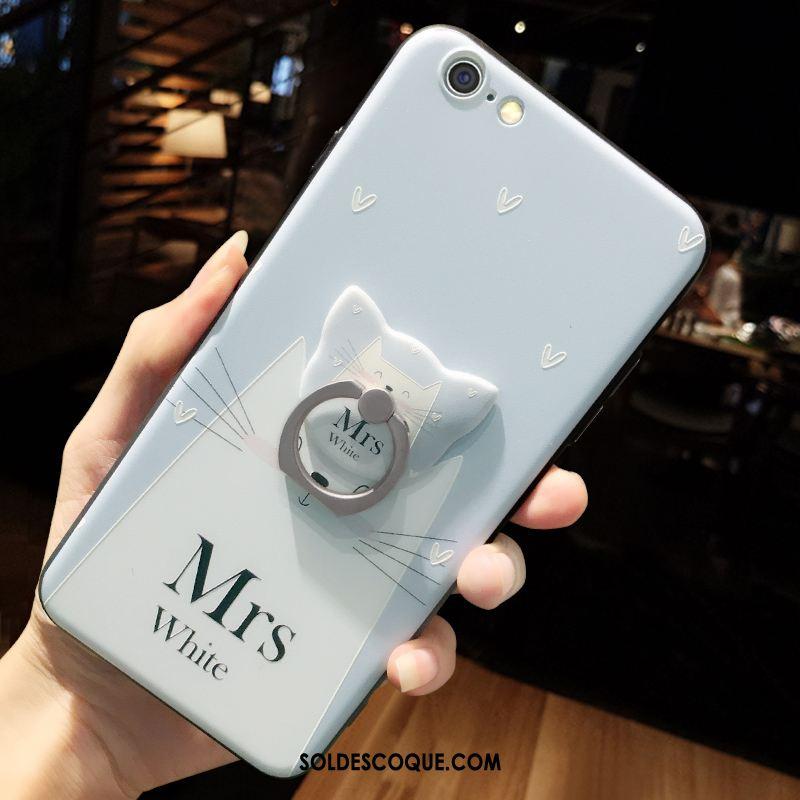Coque iPhone 6 / 6s Plus Protection Bleu Étui Incassable Dessin Animé Housse En Vente