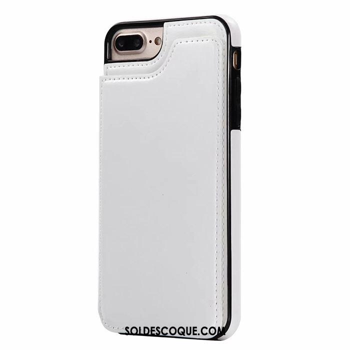 Coque iPhone 7 Plus Support Business Carte Portefeuille Sac Carte En Vente