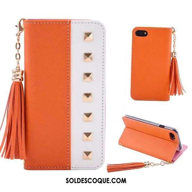 coque iphone 8 plus orange