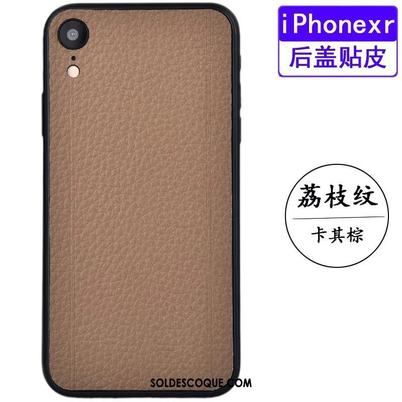 coque protection iphone xr cuir
